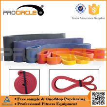 Benutzerdefinierte Gym Durable Latex gedruckte Widerstandsband