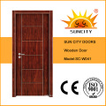 Economic Flush Design Single Solid Wooden Door (SC-W041)