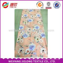 Напечатанная Полиэфиром 100% ткань 90gsm ткань для Простыня комплект постельных принадлежностей