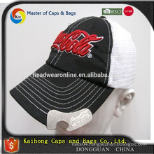 beer bottle opener baseball hat with 3D embroidery logo