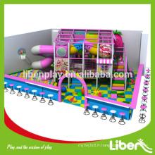 Aire de jeux pour enfants couverte personnalisée pour l'école, aire de jeux de garderie avec jouets à jouets doux