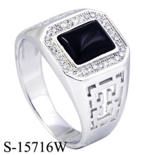 Modeschmuck 925 Sterling Silber Männer Ringe