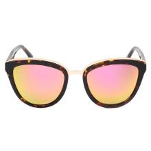 Óculos de sol de acetato artesanal retrô italiano de alta qualidade