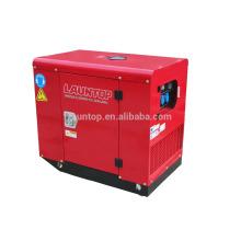 Générateur d'essence silencieux de 2 cylindres à 2 cylindres refroidi par air de 2 cylindres