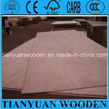Okume Commercial Plywood / Möbel, dekorative Konstruktion und Verpackung Sperrholz