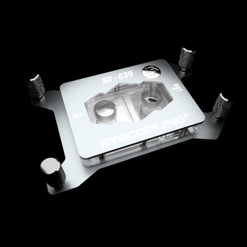 AMD TR4 CPU Liquid Cooling Copper Water Block