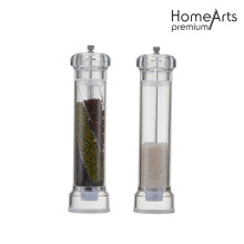 Straight Glass Hand Pepper&Salt Mill/Grinder