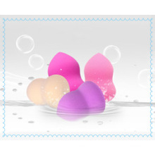 Lovely Makeup Sponge Cosmetic Puff for Cleaning Face Two Color Cosmetic Puff Sponge