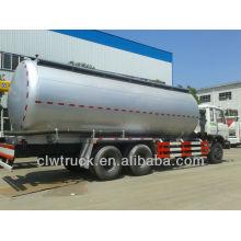 Precio de fábrica Dongfeng 6 * 4 26000L camión de transporte de cemento a granel