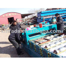 1070 Arc Bias Glazed Tile Roll Forming Machine