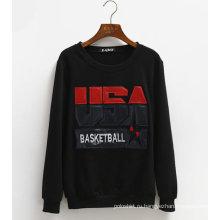 Изготовленный На Заказ Кожаный Пуловер Флис Балахон Китая Оптом