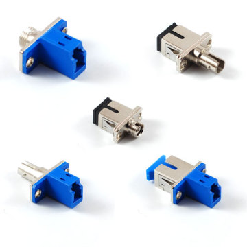 SC Female untuk LC Male Simplex Singlemode Adapter