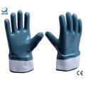 Дважды Dipped нефти доказательство нитриловые перчатки безопасности работы перчатки (N6001)