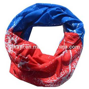 Multifunktionales gestricktes Polyester-nahtloses magisches Headwear-Bandana (YKY1006-1)