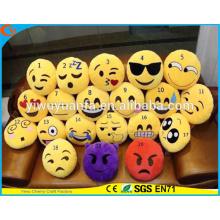 Hot Selling Design de novidade de alta qualidade Emoji Amarelo Cute Emoticon Emoji Travesseiro com Expressão Facial