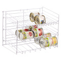 Customized counter beverage can dispenser holders 3 tiers rack organizer