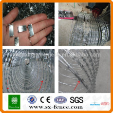 Alibaba China Factory Razor Barbed Wire/ Fake Razor Wire