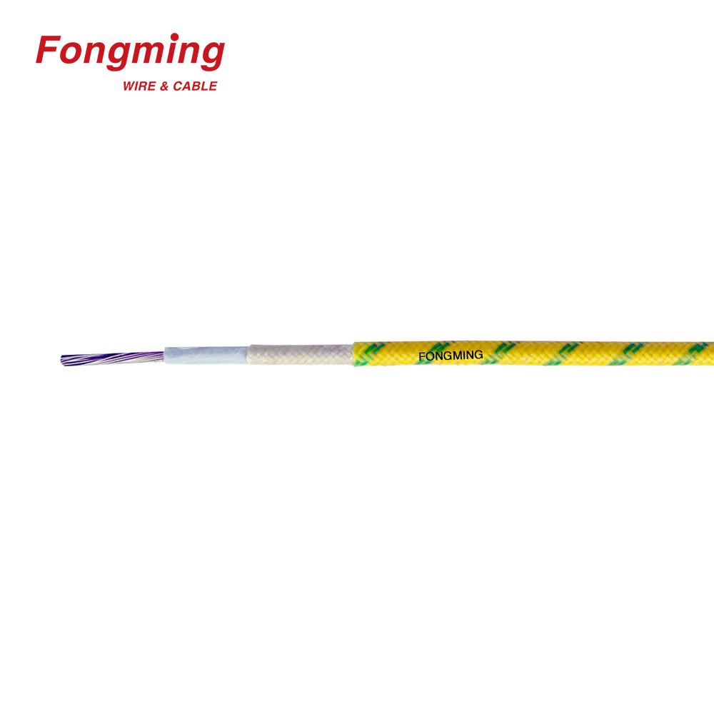 UL5256 teflon tape insulated fiberglass braided TGGT wire China ...