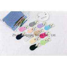 Zucker Farbe Süß Sommer Mesh Mädchen Baumwoll Socken mit Greifer in der Ferse