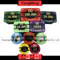 High-Grade Crow Poker Chip Set (760PCS) Ym-Lctj003