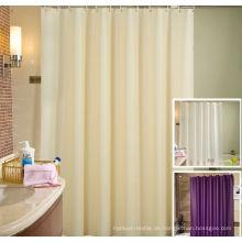 Duschvorhang des Luxus-100% Polyester verwendet für Hotel oder Haus