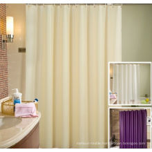 Luxury 100% Polyester Shower Curtain Used for Hotel or Home