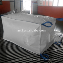 Sac jumbo de ciment de sac de 1000kg fibc / sac de U-panneau / sac en plastique de ciment, grands sacs de prix de faction de ZR