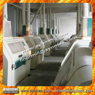 100-120t/24hComplete Set Maize Flour Grinding Mill,Maize Flour Packaging Machine/Silo,Maize Milling Machines Grain Flour Mill