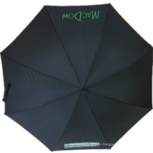 Black Advertising Straight Umbrella (JYSU-24)