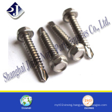 Self-Drilling Screw for Roof Use