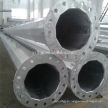China FUTAO 25M Guyed Mastro Pólo de Energia Elétrica de Aço