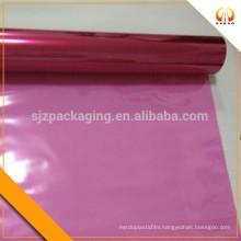 Red PET protective plastic film