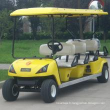Voiturette électrique de golf de voiture de tourisme de 8 Seat Seat (DG-C6 + 2)