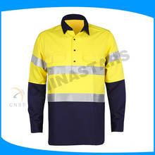 factory blue safety t-shirts wholesale safety shirts reflective work shirts