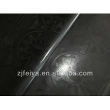 Новый черный цвет различный дизайн хлопок дамасской Shadda Гвинея парчи Базен riche 10 ярдов, мешок африканских одежды ткани