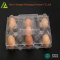 Recipiente de ovo de plástico transparente claro para venda