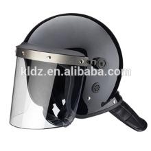 Estilo estándar del casco anti disturbios con visera en forma de L