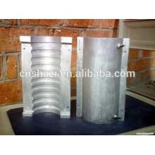 Molde refrigerado líquido industrial no elemento aquecedor