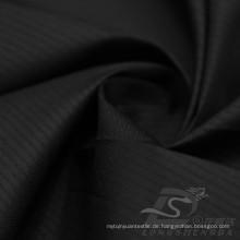 Wasser & Wind-resistent Outdoor Sportswear Daunenjacke Gewebte Plaid Jacquard 100% Polyester Filament Stoff (J011)