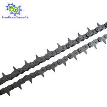 08BF1 шаг 12.7 мм острые верхние цепи ролика