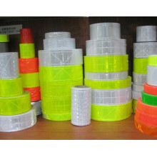 color custom reflective PVC tape belt with EN471 class 2 standard