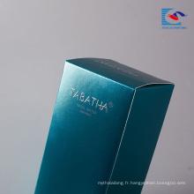Sencai 2018 Hot produit senior contracted design emballage cosmétique boîte-cadeau