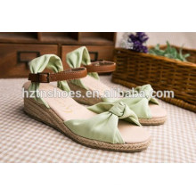 Japanese sweet comfortable little pure and fresh and candy color for women's shoes wedge waterproof platform sandals
