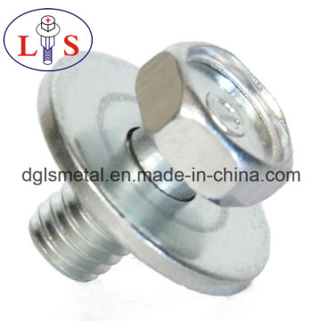 Hex Head Hexagonal Socket Bolt with Washers