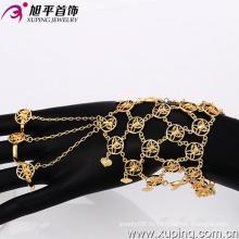 Xuping 18k Золото Цвет Мода Браслет (73687)
