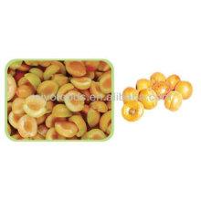 Fruta congelada rápida