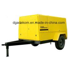 High Pressure Wheels Diesel Engine Driven Portable Screw Compressor (PUD 16-13)