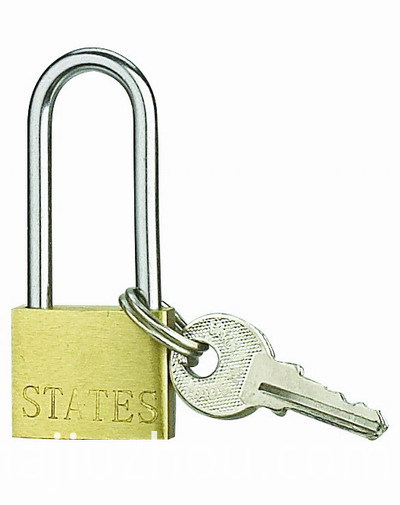 Single Skin Brass Padlock