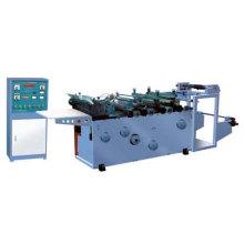 Machine automatique d'étanchéité et de découpe pour le matériel de paquet souple