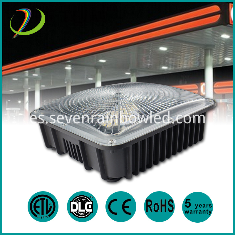 gas station canopy led lights